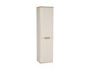 60861 - Sento Tall Unit, 40 cm, without legs, Matte Cream, left