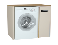 60870 - Sento Laundry Unit, 105 cm, Matte Cream, right