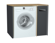 60871 - Sento Laundry Unit, 105 cm, Matte Anthracite, right