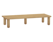 60872 - Sento Console with legs, 95 cm, Oak