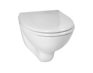 6105L003-0075 - Arkitekt Wall-Hung WC Pan, Short Projection