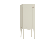 61089 - Elegance Mid Unit, 40 cm, copper handle, Matte Sand Beige, left
