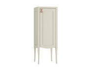 61090 - Elegance Mid Unit, 40 cm, copper handle, Matte Sand Beige, right