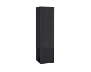 61252 - Frame Tall Unit, 40 cm, with open box, Matte Black, left