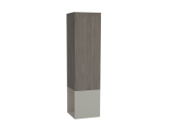 61256 - Frame Tall Unit, 40 cm, with open box, Matte Taupe, right