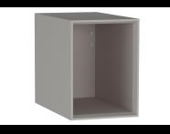 61268 - Frame Open Unit, 30 cm, Matte Taupe