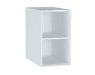 61269 - Frame Open Unit, 30 cm, with shelf, Matte White