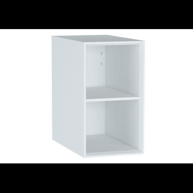 Frame Open Unit, with shelf, 30 cm, Matte White