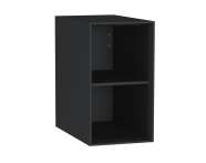 61270 - Frame Open Unit, 30 cm, with shelf, Matte Black