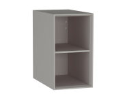 61271 - Frame Open Unit, 30 cm, with shelf, Matte Taupe