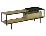 61279 - Memoria Elements Bench With Tray, 150 cm