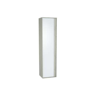 Metropole Tall Unit, 40 cm, Silver Oak, left