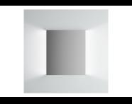 61306 - Brite Mirror, 60 cm, illuminated from sides