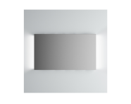 61309 - Brite Mirror, 120 cm, illuminated from sides
