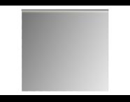 61311 - Mirror, Premium, 80 cm