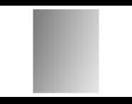 61322 - Mirror, Classic, 120 cm