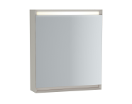 61409 - Frame Mirror Cabinet 60 cm, Matte Taupe, Right