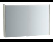 61420 - M-Line Infinit Mirror cabinet, 100 cm, Silver oak