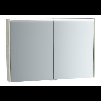 M-Line Infinit Mirror cabinet, 100 cm, Silver oak