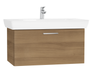 61439 - S20 Washbasin Unit, 85 cm, with 1 drawer, Golden Cherry