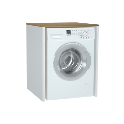 Sento Laundry Unit, 70 cm, without laundry basket Matte White