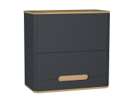 61525 - Sento Upper Cabinet, 70 cm, Matte Anthracite