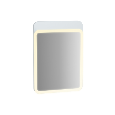 Sento Illuminated Mirror, 50 cm, Matte White