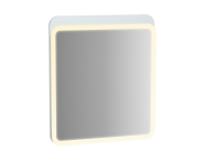 61654 - Sento Illuminated Mirror, 60 cm, Matte White