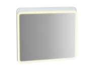 61657 - Sento Illuminated Mirror, 80 cm, Matte White