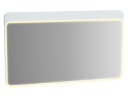 61663 - Sento Illuminated Mirror, 120 cm, Matte White