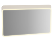 61664 - Sento Illuminated Mirror, 120 cm, Matte Cream