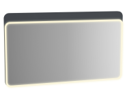 61665 - Sento Illuminated Mirror, 120 cm, Matte Anthracite
