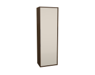 62021 - Integra Cleaning Unit, 50 cm, Cashmere & Metallic Walnut, left