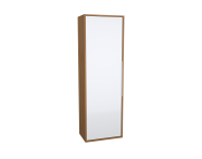 62023 - Integra Cleaning Unit, 50 cm, White High Gloss & Bamboo, right