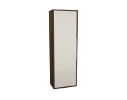 62024 - Integra Cleaning Unit, 50 cm, Cashmere & Metallic Walnut, right