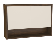 62027 - Integra Upper Unit, 70 cm, Cashmere & Metallic Walnut