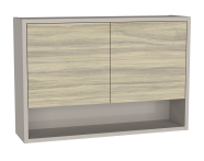 62028 - Integra Upper Unit, 70 cm, Grey Elm & Gritstone