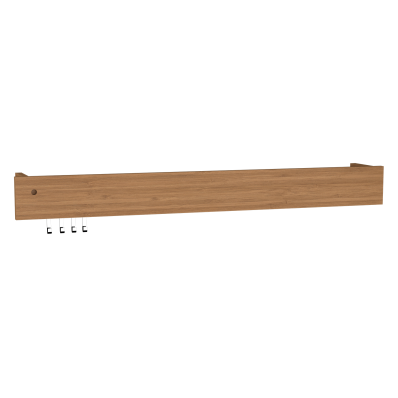 Integra Illuminated Wall Rack, 80 cm, Bamboo
