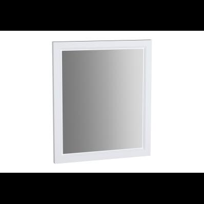 Valarte Flat Mirror, 65 cm, Matte White