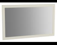 62224 - Valarte Flat Mirror, 120 cm, Matte Ivory