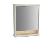 62228 - Valarte Mirror Cabinet, 65 cm, Matte White, right