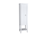62240 - Valarte Tall Unit, 55 cm, Matte White, left