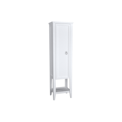 Valarte Tall Unit, 55 cm, Matte White, left