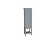 62241 - Valarte Tall Unit, 55 cm, Matte Grey, left