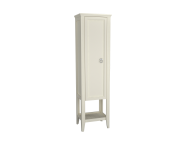 62242 - Valarte Tall Unit, 55 cm, Matte Ivory, left