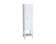 62243 - Valarte Tall Unit, 55 cm, Matte White, right