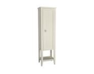 62245 - Valarte Tall Unit, 55 cm, Matte Ivory, right