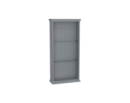 62253 - Valarte Open Unit, 55 cm, Matte Grey