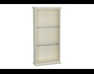 62254 - Valarte Open Unit, 55 cm, Matte Ivory