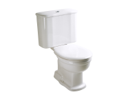 6275B003-0075 - Aria Close-Coupled WC Pan with Bottom Outlet without Bidet Pipe